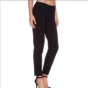 Theory Black Wool Belisa Dress Pants